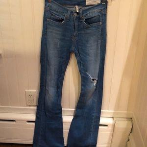 Rag and Bone bell bottom jeans